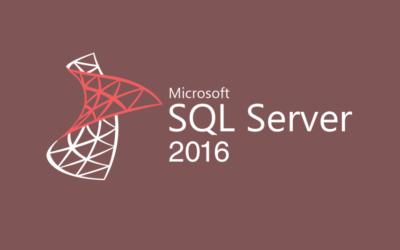 Microsoft SQL Server 2016 Essential Training