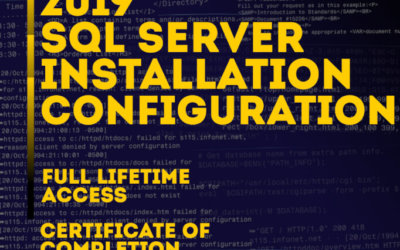 SQL Server 2019 overview and installation