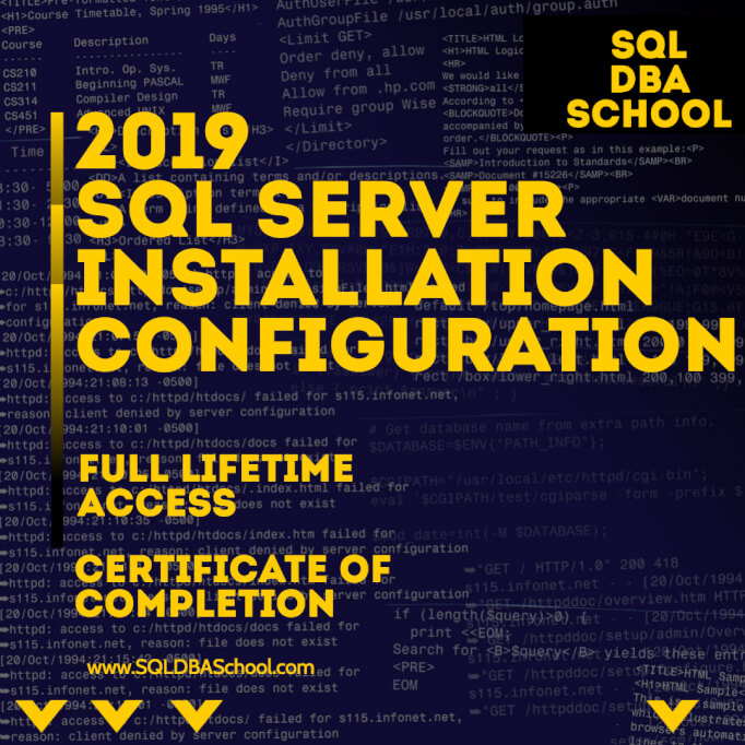 SQL-Server-2019-overview=and-installation
